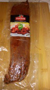 KAÏSER PASTARMA   Faux filet de bœuf mariné séché aux paprika.