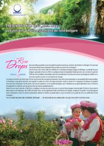 EAU DE PARADIS | Eau de source aux extraits d'huile essentielle de rose bulgare.
