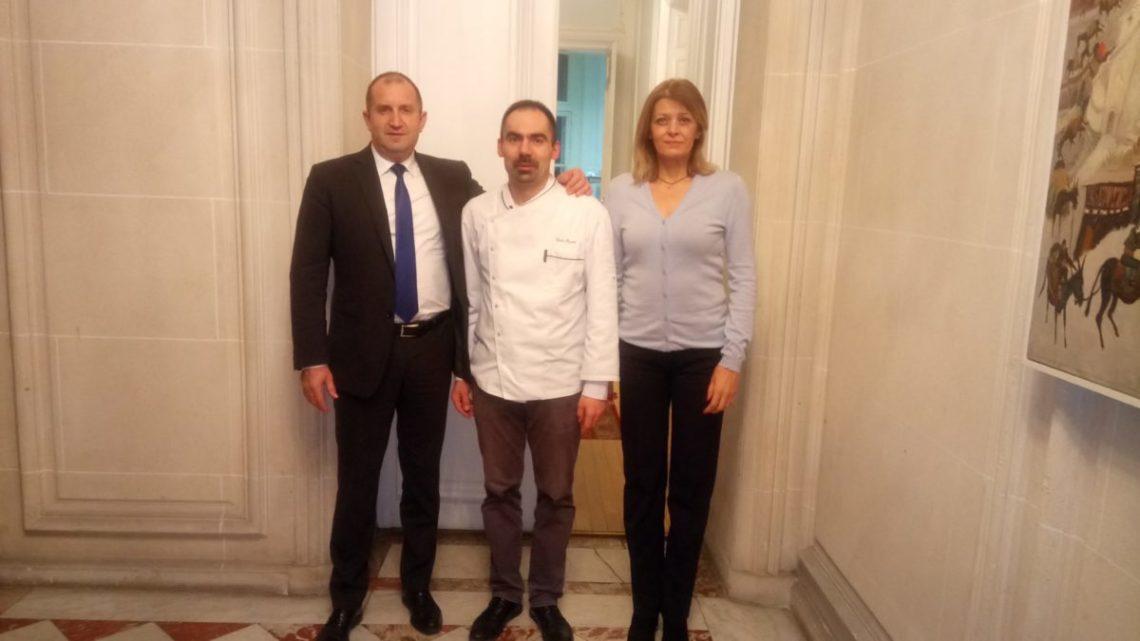 Pisanov : Traiteur du Gala avec le Président Bulgare à l'ambassade de Bulgarie